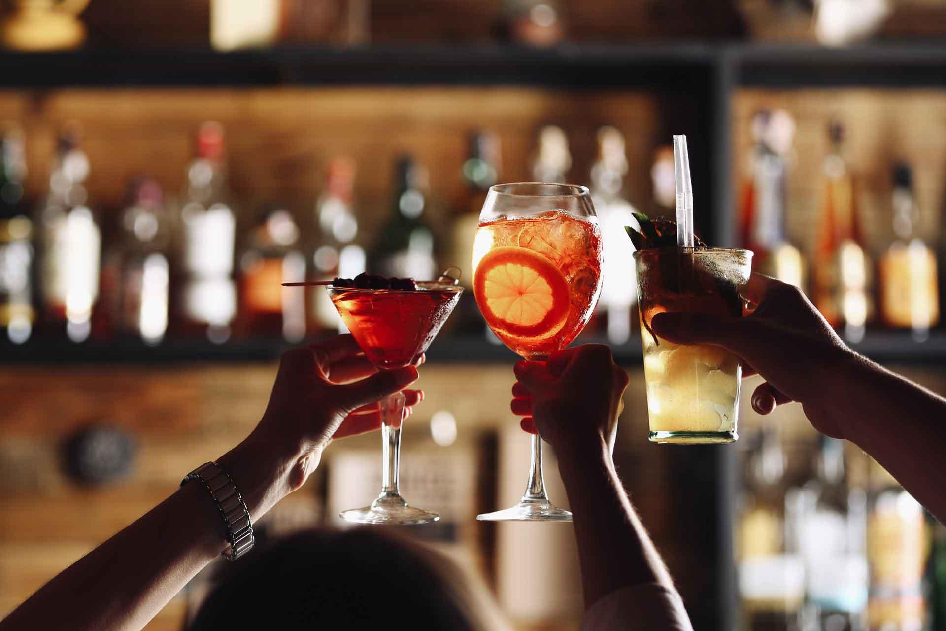 Bachelorette bar crawl party