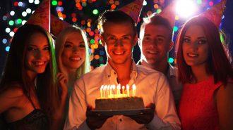 Birthday Suprise at Get A Clue Bar Crawl