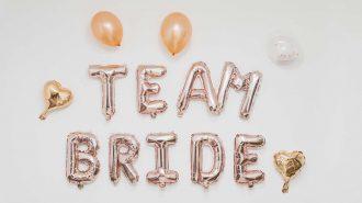 Team Bride Ballons